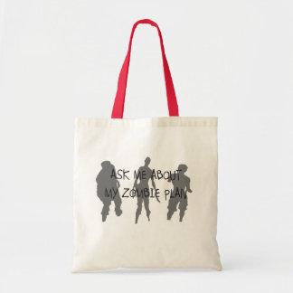Zombie Plan Budget Tote Bag