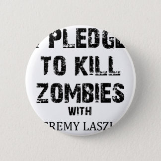 Zombie Pledge Merch 2 Inch Round Button