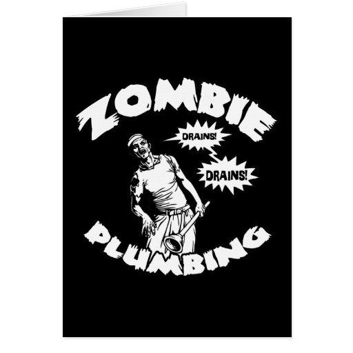 Zombie plumbing zazzle
