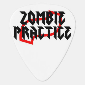 Zombie Practice Guitar Pick