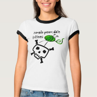 zombie prom date knitters tees