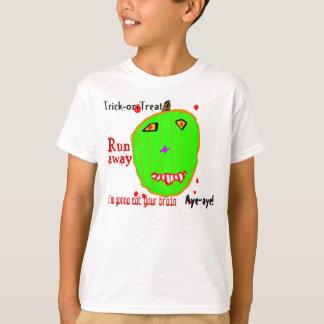 Zombie Pumpkin Trick or Treat T-Shirt