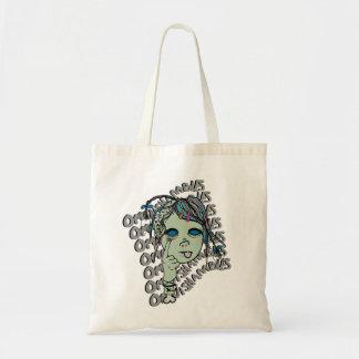 Zombie-Punk Logo Tote Bag