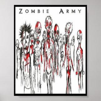 Zombie Punks/Zombie Army Poster
