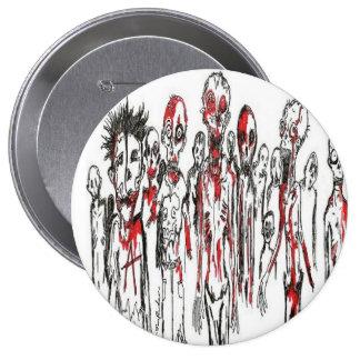 Zombie Punx Button