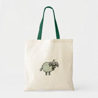 zombie ram trick or treat tote bag