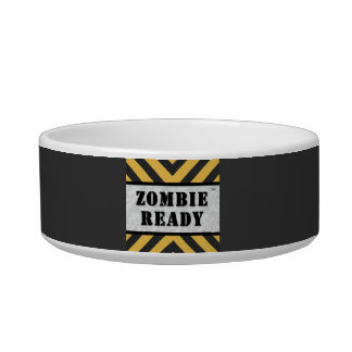 Zombie Ready Cat Bowl