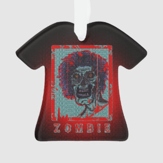 Zombie-Red & Blue Distressed