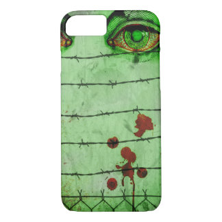 Zombie Red Eye Case-Mate Barely There iPhone Case