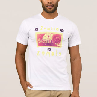 Zombie! Red Yellow Moon T-Shirt