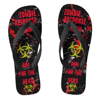Zombie Response Team! Dead Sexy! MEN/WOMEN'S Sizes Flip Flops