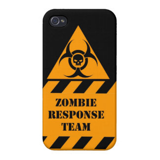 Zombie response team keep calm and kill zombies iPhone 4 cases