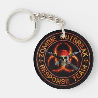 Zombie Response Team Keychain