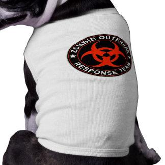 Zombie Response Team Kill Walkers Dead Dog Tshirt