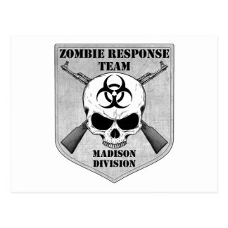 Zombie Response Team: Madison Division Postcard