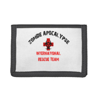 Zombie Response Team Wallet Walking Bio Hazard