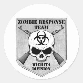 Zombie Response Team: Wichita Division Classic Round Sticker