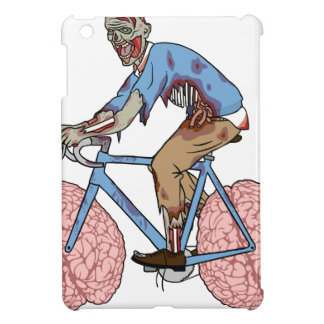 Zombie Riding Bike With Brain Wheels Case For The iPad Mini