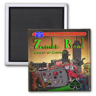 Zombie Road: Convoy of Carnage Magnet
