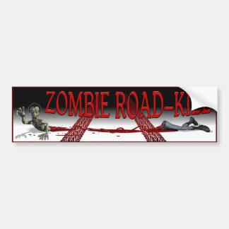 Zombie Road-Kill Bumper Stickers