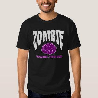 Zombie Rocks | Purple Brain Tshirt
