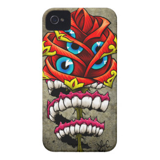 Zombie Rose iPhone 4 Cover
