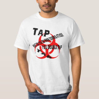 Zombie rule #2 Double tap. Shirts
