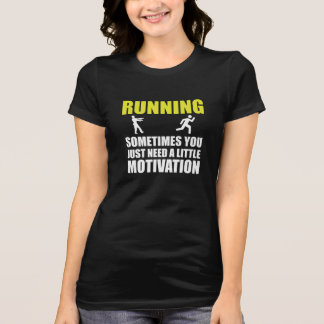 Zombie Running Motivation T-Shirt
