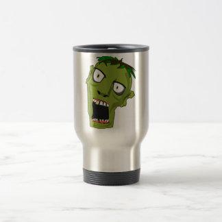 Zombie Scary Dead Halloween Face Cartoon Travel Mug