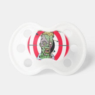 Zombie Shooting Range Baby Pacifier
