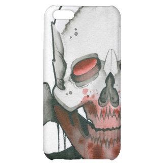 Zombie Skull and Crossbones iPhone 5C Case