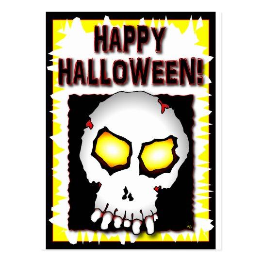 Zombie Skull Cards