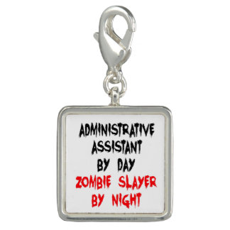Zombie Slayer Administrative Assistant Charm