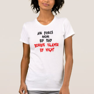 Zombie Slayer Air Force Mom T-shirt