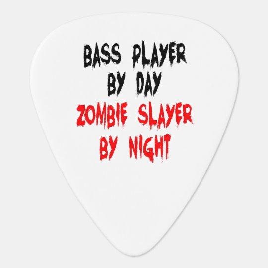 Zombie Slayer Bass Player Pick