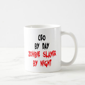 Zombie Slayer CEO Classic White Coffee Mug