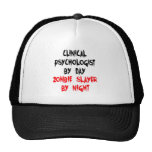 Zombie Slayer Clinical Psychologist Trucker Hat