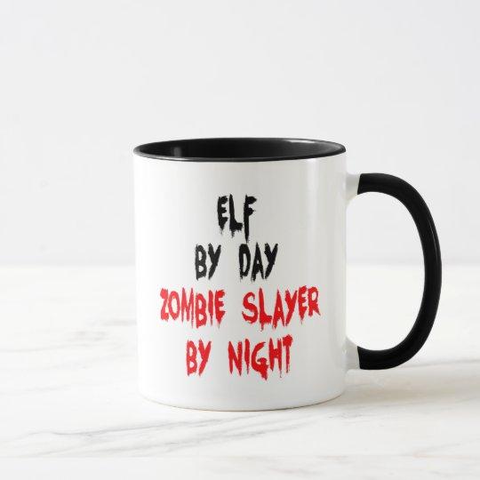 Zombie Slayer Elf Mug