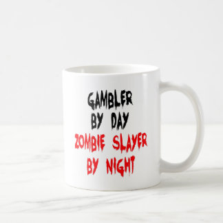 Zombie Slayer Gambler Coffee Mug