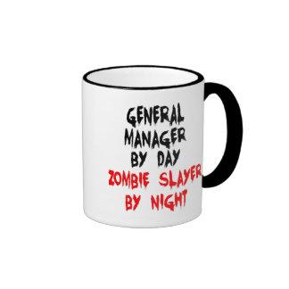 Zombie Slayer General Manager Ringer Mug