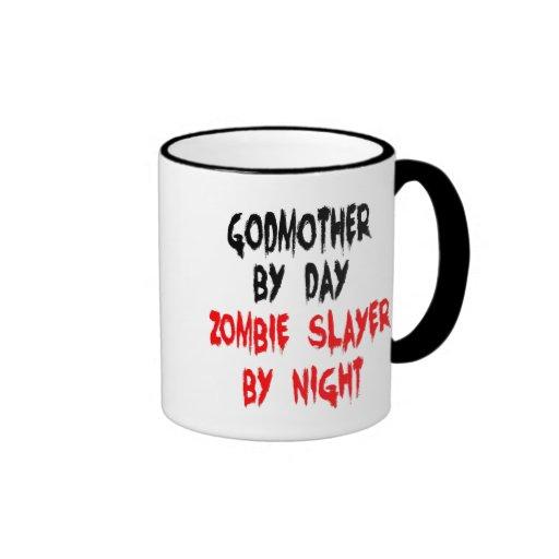 Zombie Slayer Godmother Mugs