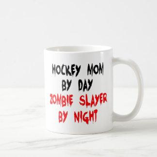 Zombie Slayer Hockey Mom Classic White Coffee Mug