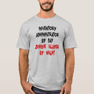 Zombie Slayer Inventory Administrator T-Shirt