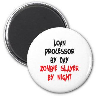 Zombie Slayer Loan Processor Magnet