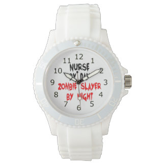 Zombie Slayer Nurse Watch