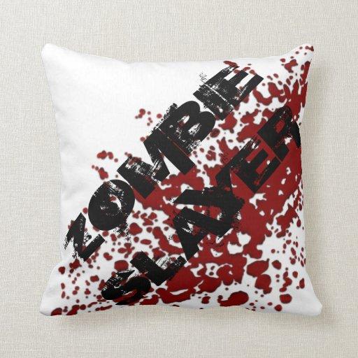 Zombie Slayer Pillow