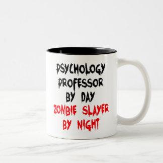 Zombie Slayer Psychology Professor Two-Tone Mug