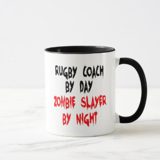 Zombie Slayer Rugby Coach Mug