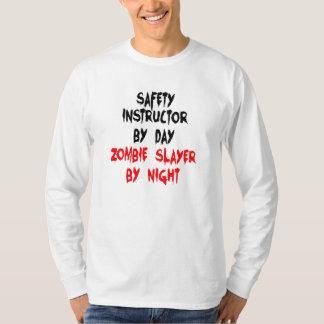 Zombie Slayer Safety Instructor T-Shirt