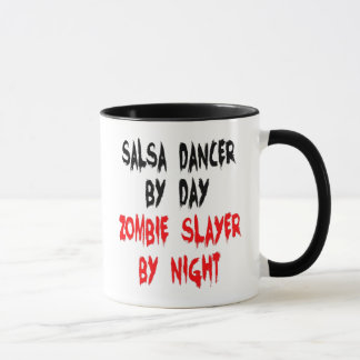 Zombie Slayer Salsa Dancer Mug